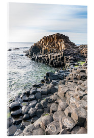 Stampa su vetro acrilico  The Giants Causeway - Michael Runkel