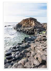 Poster Premium  The Giants Causeway - Michael Runkel