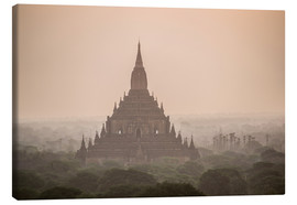 Stampa su tela  Sunrise at Sulamani Buddhist Temple, Bagan (Pagan) Ancient City, Myanmar (Burma), Asia - Matthew Williams-Ellis