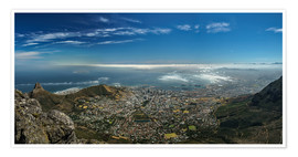 Poster Premium  Panorama Cape Town South Africa - Achim Thomae
