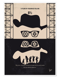Poster  No731 My 8 1 2 minimal movie poster - chungkong