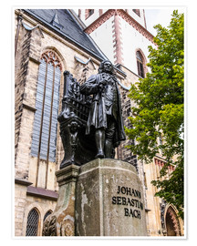 Bach Monument in Leipzig