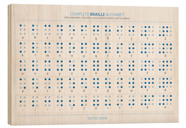 Legno  Braille - Alphabet - Typobox