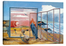 Stampa su tela  Landscape from a Dream - Paul Nash
