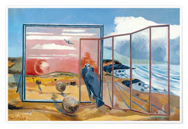 Poster Premium  Landscape from a Dream - Paul Nash
