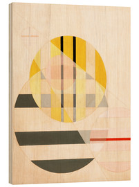 Stampa su legno  Composizione II - László Moholy-Nagy