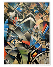 Christopher Nevinson - The Arrival