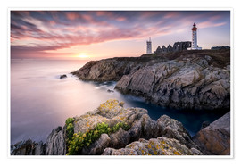 Poster Premium Lighthouse of St Mathieu (France / Brittany)
