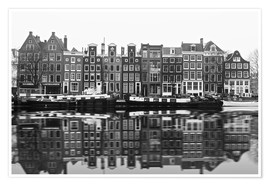 Poster Premium  Reflections of Amsterdam - George Pachantouris