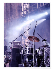 Poster  Drums in the Spotlight