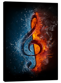 Tela  Fire and water music