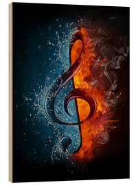Legno  Fire and water music