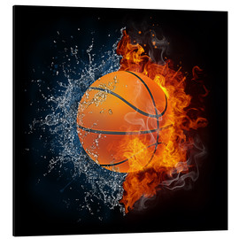 Basketball in the battle of the elements