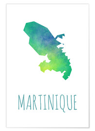 Poster Premium Martinique