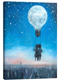 Tela  our love will light the night - Adrian Borda