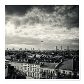 Poster Premium Berlin - Roofscape
