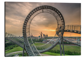Stampa su alluminio  Tiger & Turtle Magic Mountain Duisburg - Dennis Stracke