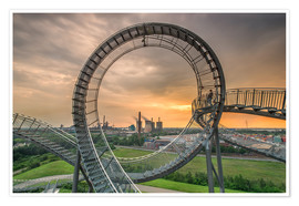 Poster Premium  Tiger & Turtle Magic Mountain Duisburg - Dennis Stracke