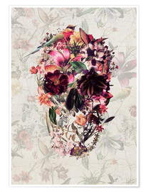 Poster Premium  New Skull Light - Ali Gulec