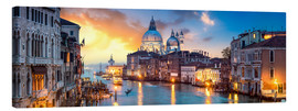 Stampa su tela  Canal Grande panorama in Venice, Italy - Jan Christopher Becke