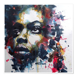 Poster Premium  Nina Simone : My Baby Just Cares For Me - Paul Lovering