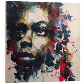 Legno  Nina Simone  : My Baby Just Cares For Me  - Paul Paul Lovering Arts