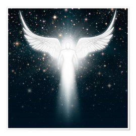 Poster Premium White angel