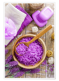 Poster Premium  Purple relaxation