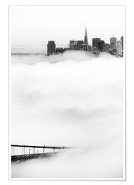 San Francisco disappeared in the fog