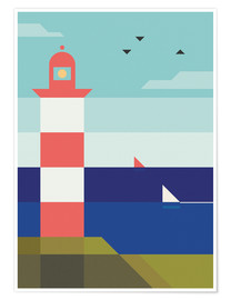 Poster Premium  Lighthouse - Antony Squizzato