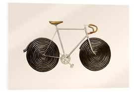 Stampa su vetro acrilico  Licorice Bike - Florent Bodart