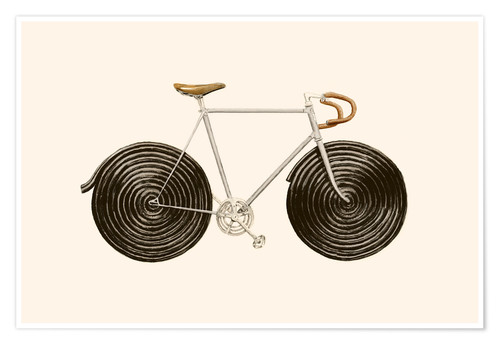 Poster Premium Licorice Bike