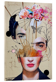 Vetro acrilico  frida for beginners - Loui Jover