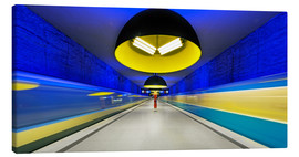 Tela  Subway station in Munich - Dieter Meyrl