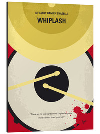 Alluminio Dibond  No761 My Whiplash minimal movie poster - chungkong
