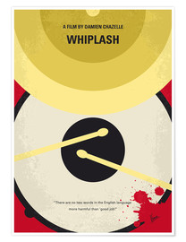 Poster  No761 My Whiplash minimal movie poster - chungkong