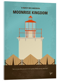 Vetro acrilico  No760 My Moonrise Kingdom minimal movie poster - chungkong