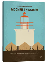 Tela  No760 My Moonrise Kingdom minimal movie poster - chungkong