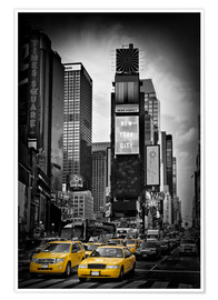 Poster Premium NEW YORK CITY Times Square