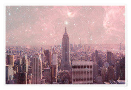 Poster  Stardust Covering NYC - Bianca Green