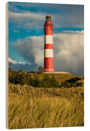 Stampa su legno  Lighthouse on the island Amrum, Germany - Rico Ködder