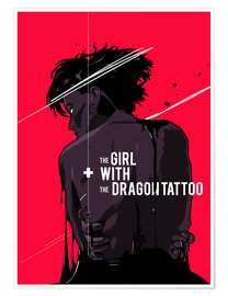 Poster Premium  The Girl with The Dragon Tattoo - Fourteenlab