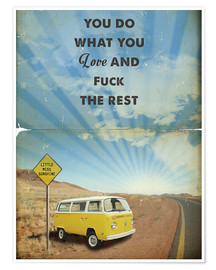 Poster Premium  Little Miss Sunshine - 2ToastDesign