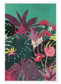 Poster  Tropical Tendencies - littleclyde