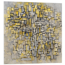 Stampa su schiuma dura  Tableau No. 2/Composition No. VII - Piet Mondrian
