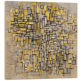 Stampa su legno  Tableau No. 2/Composition No. VII - Piet Mondriaan