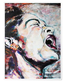 Poster Premium  Billie Holiday, I'm a Fool to Want You - Christel Roelandt