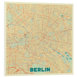Forex  Berlin Map Retro - Hubert Roguski