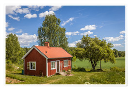 Poster  Idyllic Swedish summer house - Christian Müringer