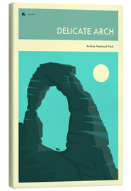 Tela  ARCHES NATIONAL PARK - Jazzberry Blue